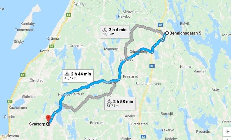 Väg 132- En gång en stolt strategisk länk mellan Tranås och Huskvarna.