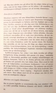 Georg Borgström om klimatets kris